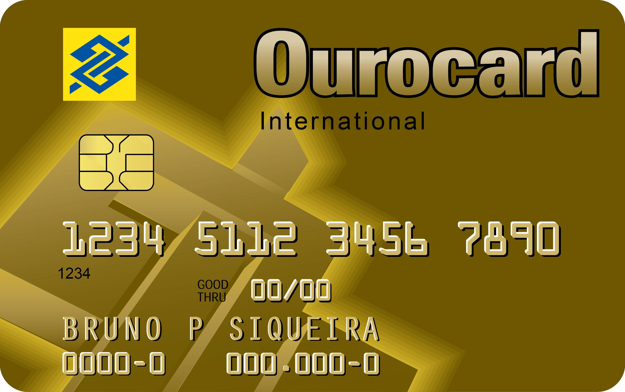 2019d8a521 O cartão de crédito Ourocard Internacional é o cartão para ser usado no  Brasil e no exterior. No mesmo cartão você tem débito, crédito, crediário e  todas as ...